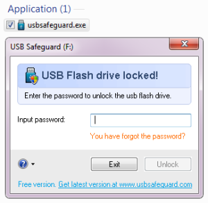 Protect Pen Drive with Password, tips and tricks