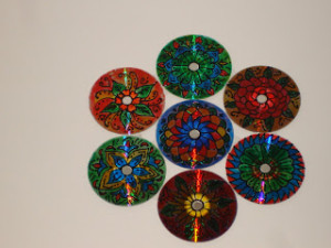 Recycle CD with Interesting Craft