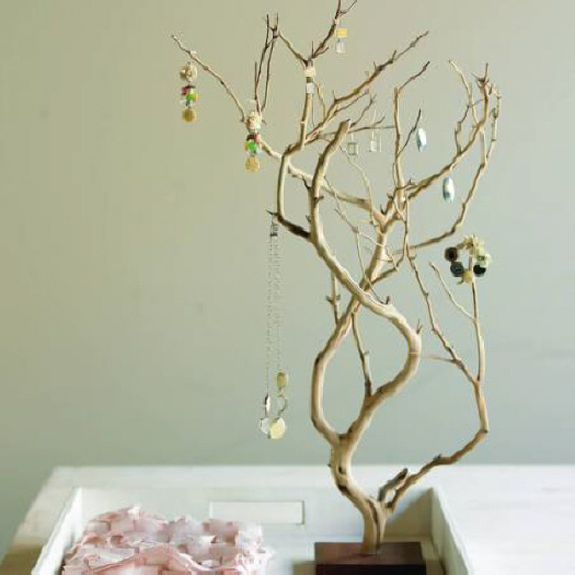 jewelry-tree, Jewellery Holder from Waste Material