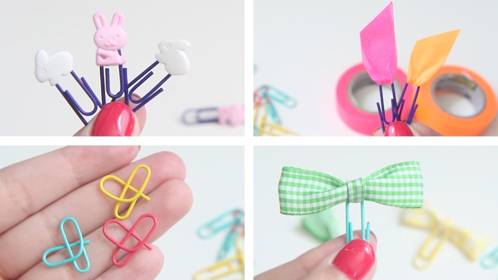 5 creative bookmarks paper clip bookmarks for Best out of waste step by step