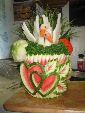 Top 10 Fruit Art & Vegetable Art