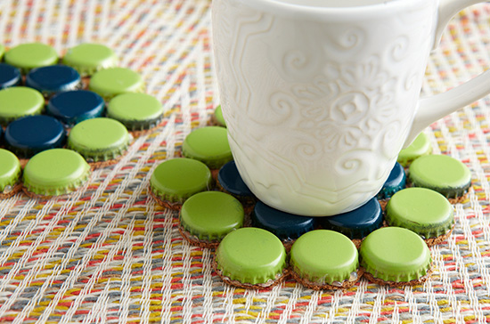 Bottle-Cap-Coasters