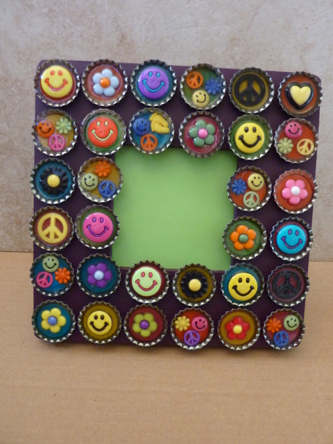 bottle-cap-frame