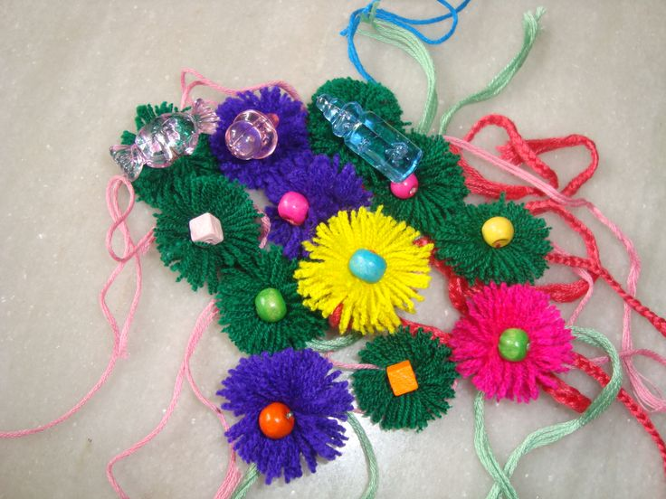 5 creative rakhi ideas make handmade rakhi wiki how for Making hut with waste material