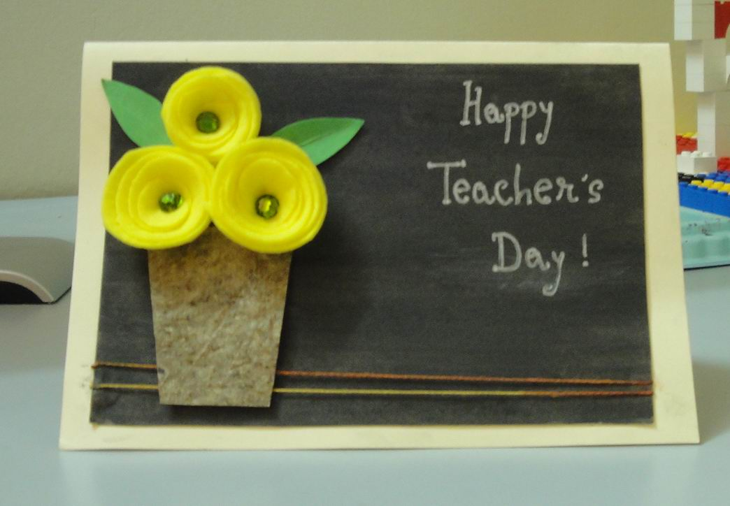 Top 10 Teacher's Day Cards