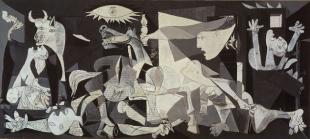 Guernica_Picasso, 10 Best Paintings in the World Ever