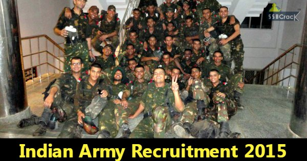 Indian Army Jobs 70 Vacancies for Engineers 2015