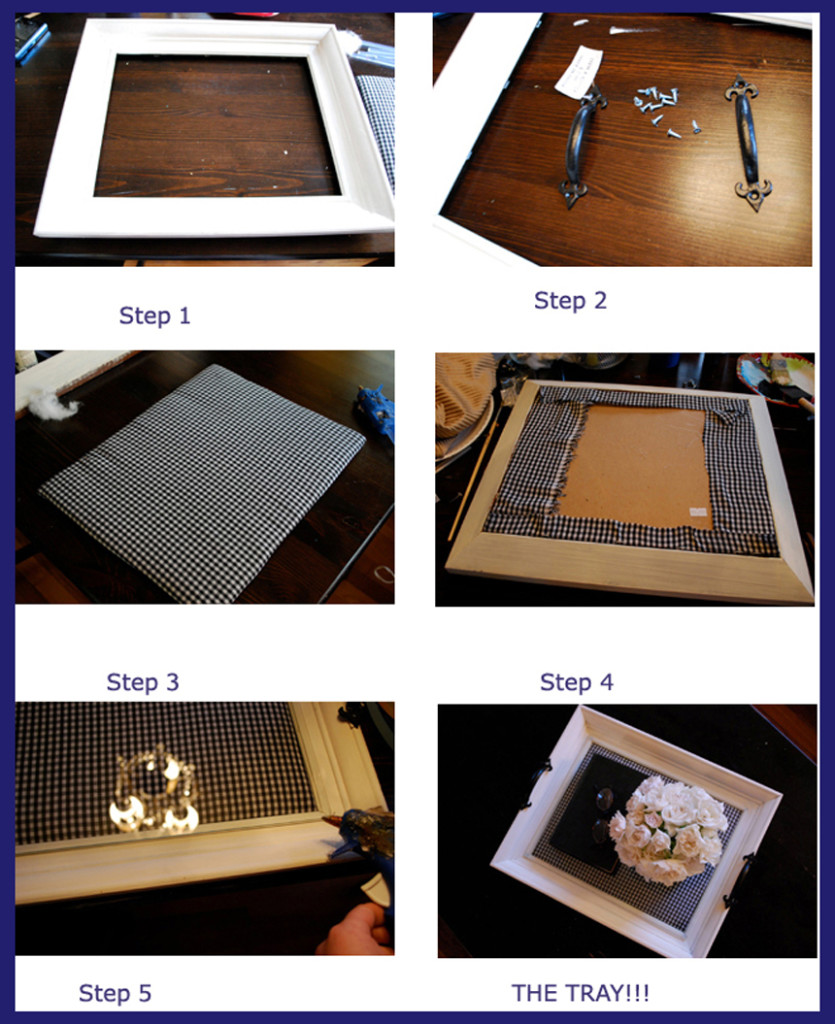 Old Photo Frame Tray | Best Out of Waste