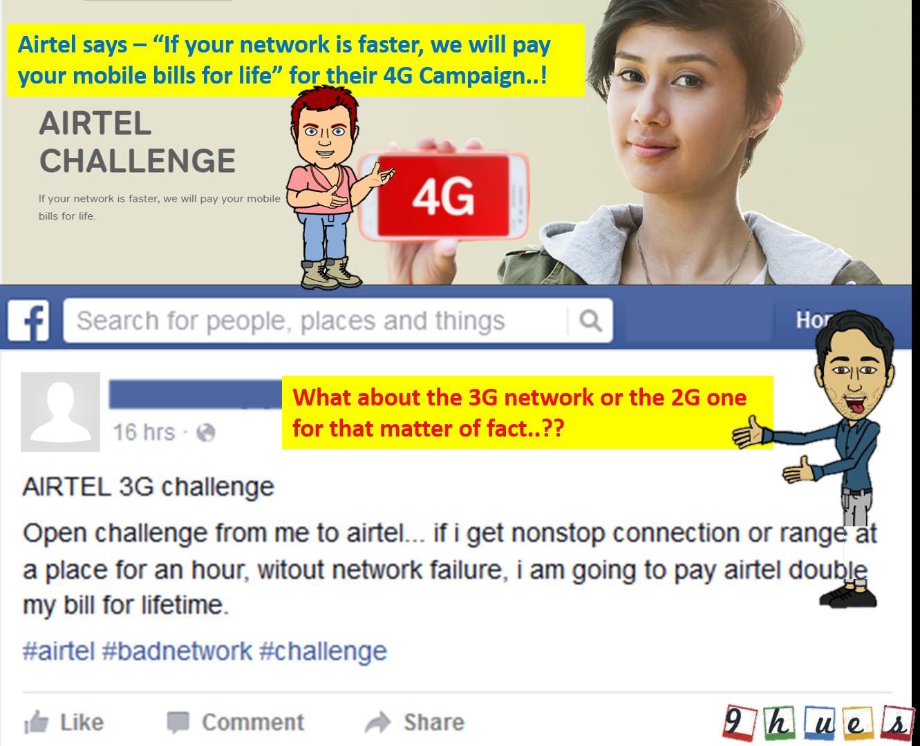 Wiki-How : Airtel 4G Internet Challenge Trolled Video