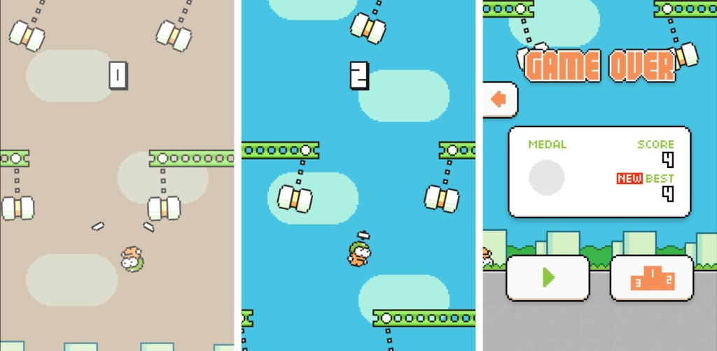 Swing-Copters, Most Addictive Android Games