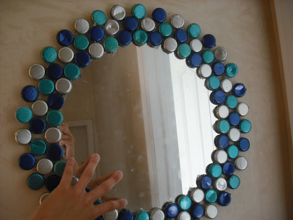 bottle cap craft, Home decorations craft