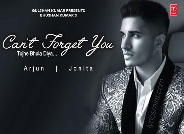 Can't Forget You (Tujhe Bhula Diya) Song Lyrics | Arjun