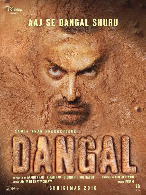 Dangal Movie First Look Poster - Aamir Khan Twitted