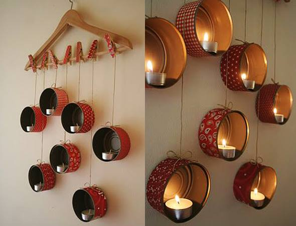 How To Make Hanging Lamp From Waste Material