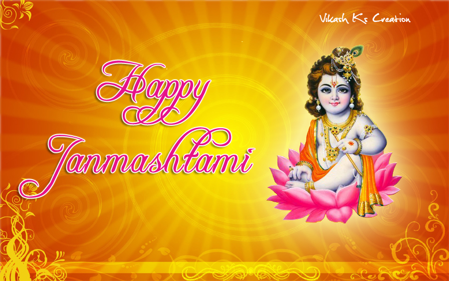 happy Janmashtami-Images, Best Happy Krishna Janmashtami Sms/Messages