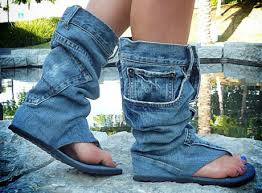 Wiki-How : How To Use Old Denim Jeans To Make Crafts