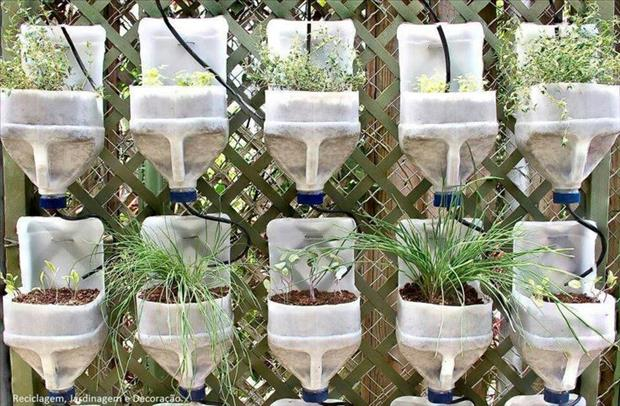 How to use waste plastic bottles