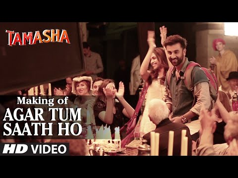 Agar Tum Saath Ho Song Lyrics and Video | Tamasha Movie Song | A. R. Rahman