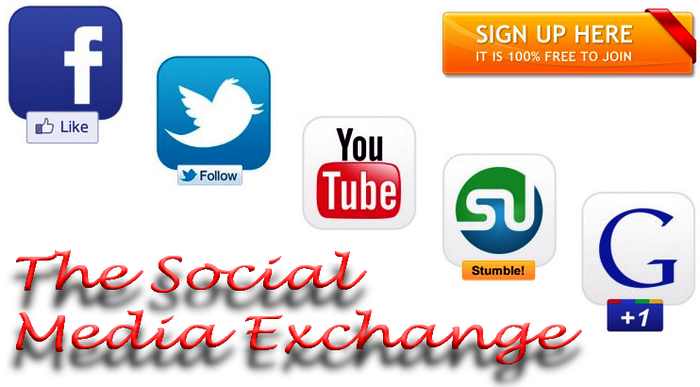 Facebook Like Exchange Sites | Twitter, Google+ Follower