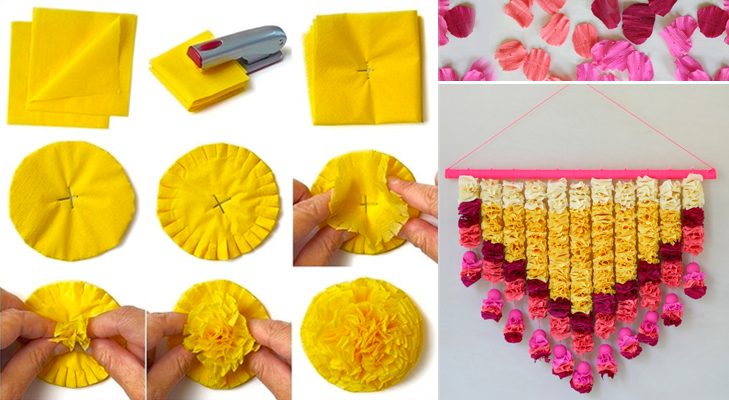 Diwali decoration craft best out of waste wiki how for Images of decorative items made from waste material