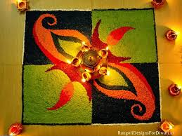 Rangoli Making In Easy Steps