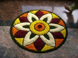 5 Steps to Make Rangoli