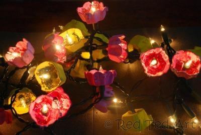 Egg-carton-fairy-lights