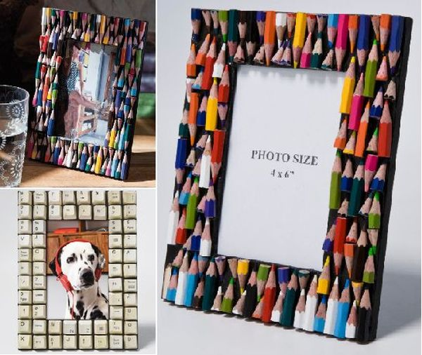 Top 10 photo frames from waste material craft wiki how for Creative things out of waste