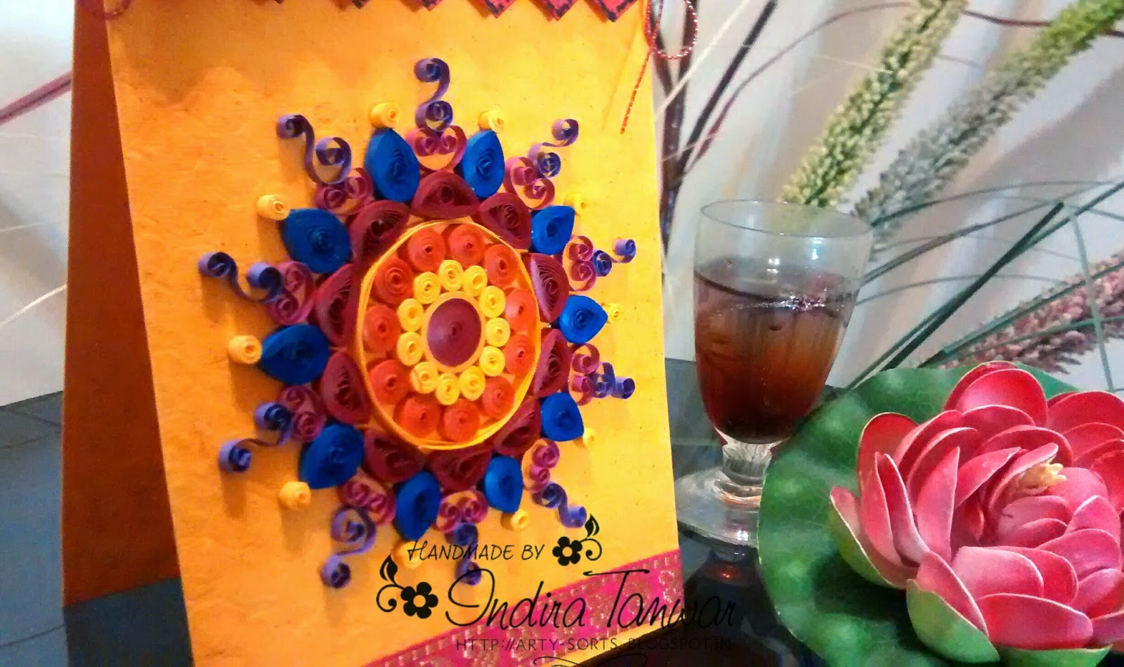 5 Best Handmade Diwali Greeting Cards