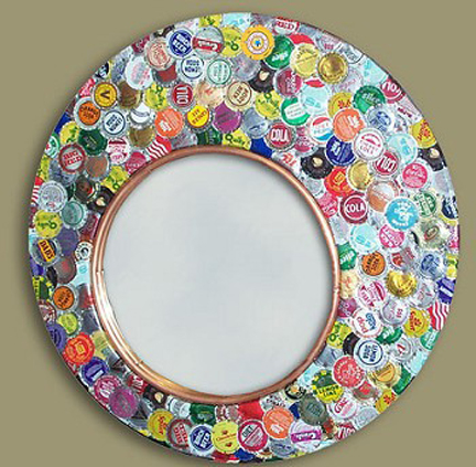 photoframes from bottle cap