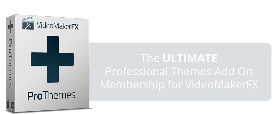 VideoMakerFX - ProThemes Add On Discount