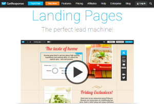 GR landing page