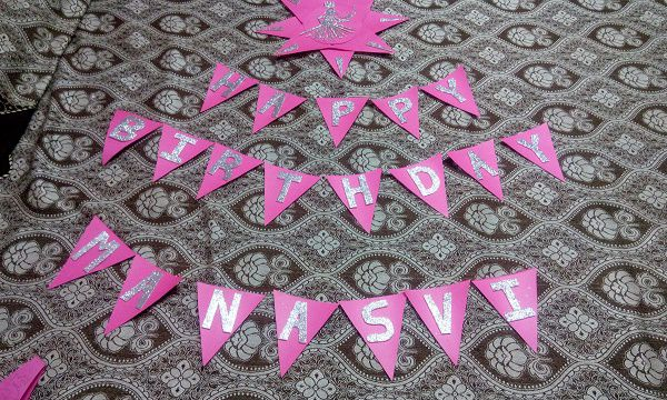3 Easy Steps to Make Handmade Birthday Banner