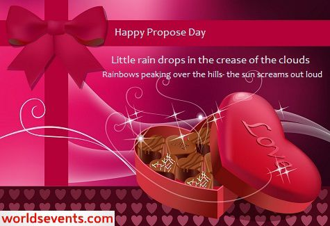 Best Happy Propose Day SMS/Messages