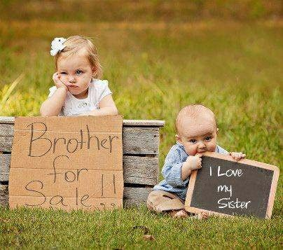Cute Brother Sister Dp