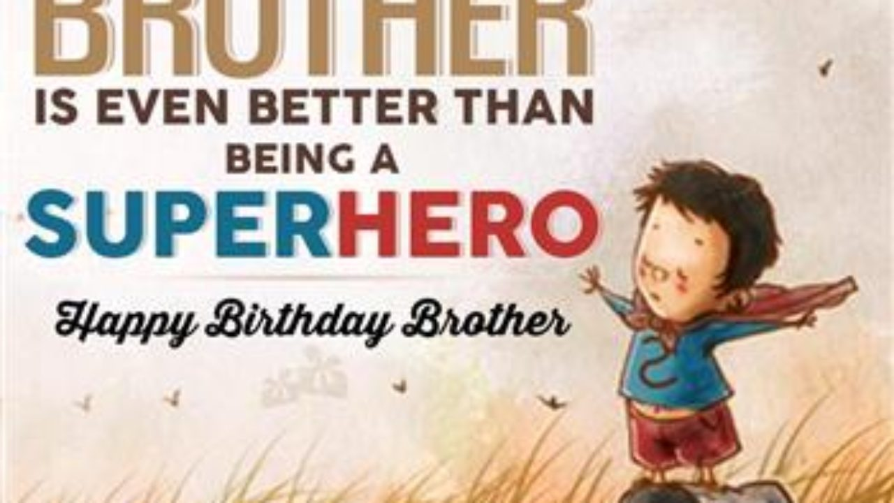 13 Best Happy Birthday Brother Wishes in Hindi & English