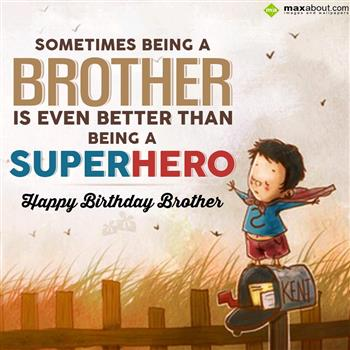 13 Best Happy Birthday Wishes for Brother in Hindi & English