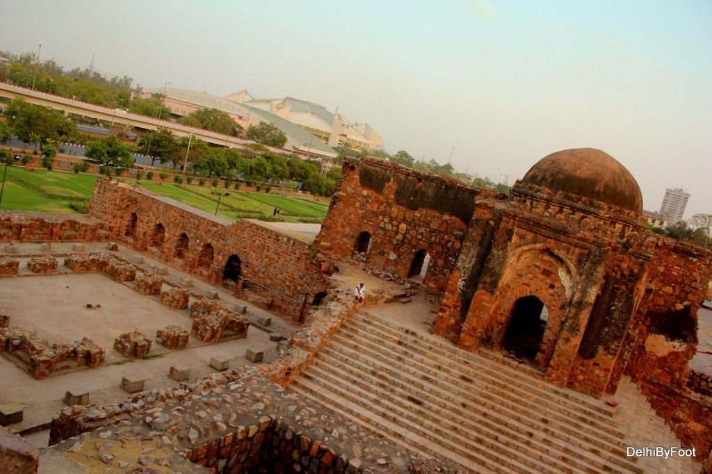 Feroz Shah Kotla Fort haunted location