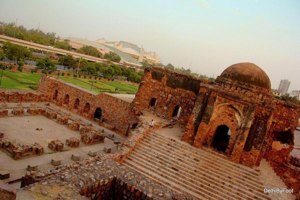 Feroz Shah Kotla Fort haunted location