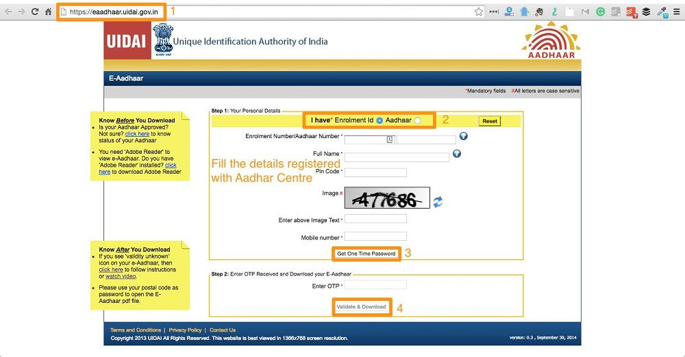5 Easy Steps to Download Aadhar Card Online in 5 Minutes