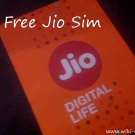 How to Get Free Reliance Jio Sim Preview Offer