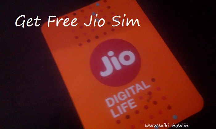 Trick to Get Reliance Jio 4G Sim Free with Unlimited Internet, Calling, SMS