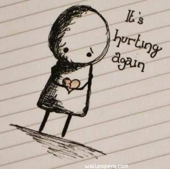 7 Best Feeling Hurt Images, Quotes, Sayings for Whatsapp DP / Facebook