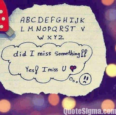 best missing status after breakup