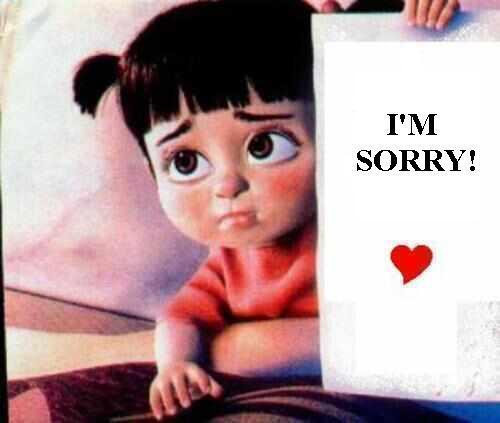 7 Sorry Whatsapp Dp Images  Sorry, Regretful Status