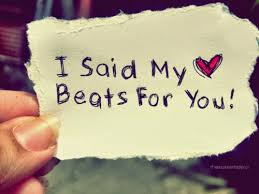 love status heart beats for you