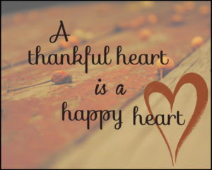 thankful heart status