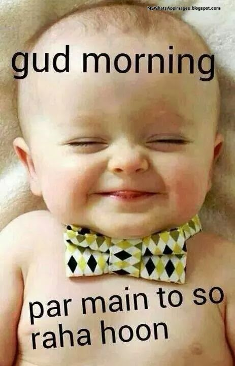 Good Morning Baby Quote : Funny good morning images quotes messages wiki how