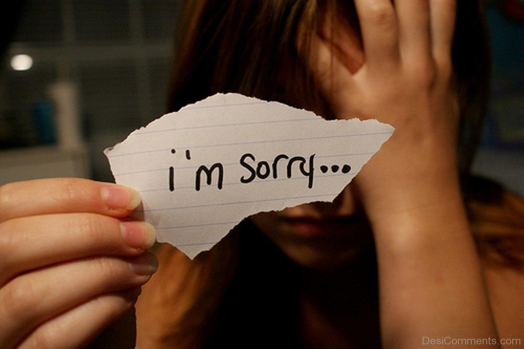 7 Sorry Whatsapp Dp Images | Sorry Status