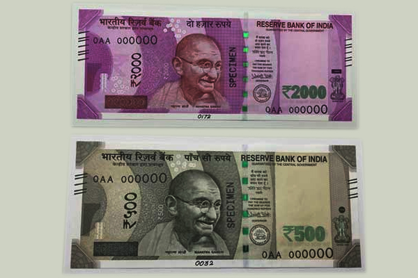 new 500 2000 rupees notes design details